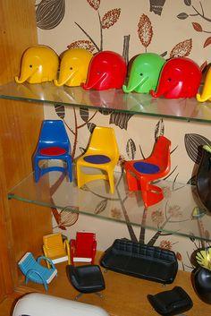vintage plastic by clockworkorange67.com, via Flickr