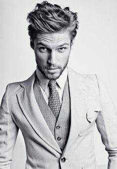 men styles, grey suits, men hair, male style, men fashion, men suits, gentleman style, style clothes, men's hairstyles