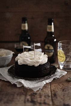 Guiness stout cake by Call me Cupcake http://call-me-cupcake.blogspot.se/2012/03/guinness-chocolate-cake.html