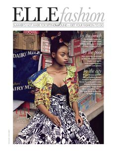 jozi maboneng: sharleen dziire by ross garrett for elle south africa january 2013 | visual optimism; fashion editorials, shows, campaigns & more!