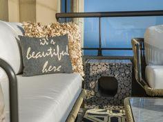 The pillow says it best!   #HGTVUrbanOasis