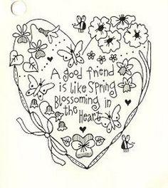 embroidery design~heart idea, craft, pattern, redwork, bordado, friend, embroidery designs, embroideri, red work