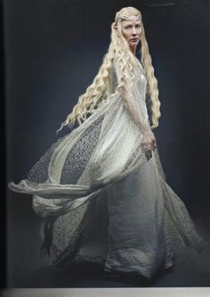 """Middle-earth:  Galadriel (Cate Blanchett), """"The Hobbit."""""""