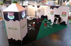 10m x 10m Muller Wiseman custom exhibition stand