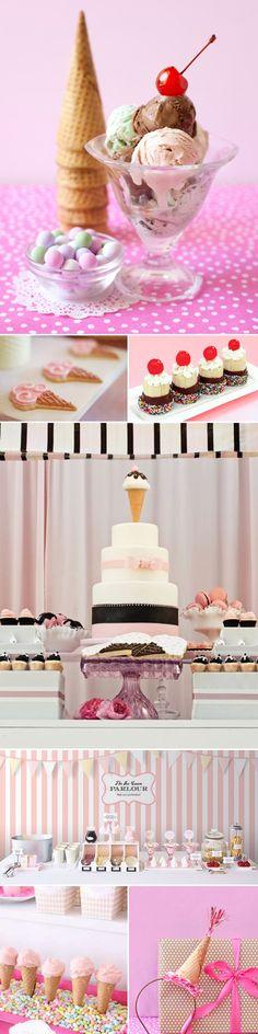 ~ice cream parlour party!~