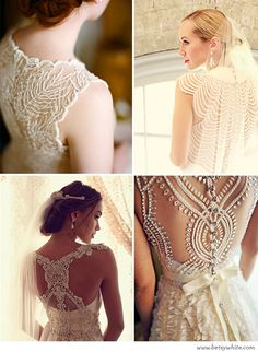 Beautifully Beaded Backs // Flights of Fancy (click for image sources)