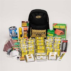 Deluxe Survival Backpack Kit, perfect