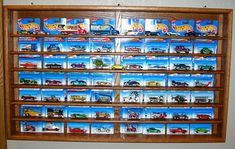 Hot Wheels Card Display Case by OakCollection on Etsy, $185.00