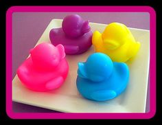 Soap - Rubber Ducky - NEW - Party Favors, Easter - You Choose Color and Scent