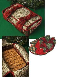 Holiday Casserole Carrier and Potholder