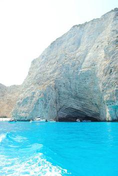Turquoise, Navagio Beach, Greece photo via beneath