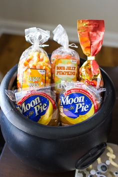 Delight your trick or treaters and party guests with sweets from the Cracker Barrel Old Country Store. #Halloween