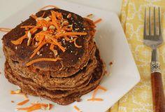 Carrot cake gf pancakes
