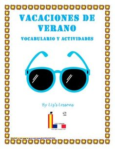 $ Need some fun activities to do in your Spanish class before summer vacation?