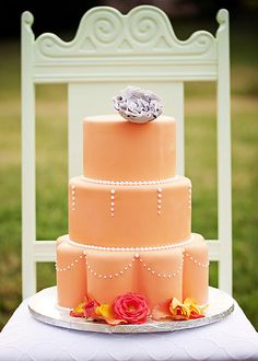 Gorgeous #wedding cake