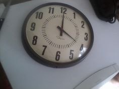 Vintage school clock