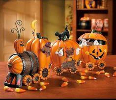 Halloween train.