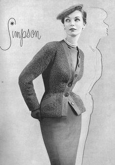 Vogue 1952 Adele Simpson
