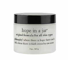 Thirsty skin after a long day on the beach? philosophy's hope in a jar is my go-to.