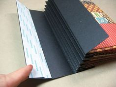 Good instructions for accordian fold binding