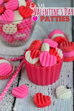 Easy Valentine's Day Peppermint Patties - or you choose the flavor!
