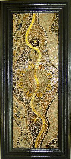 beautiful glass mosaic