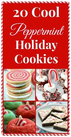 Christmas Holiday Peppermint Cookie Round-Up #christmascookie #cookie #cookieexhange