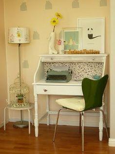 antiguo escritorio restaurado! me encanto!