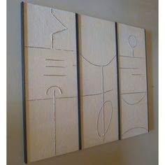 Triptych of Art Pane