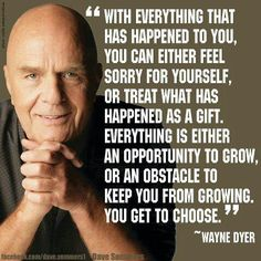 Love Dr. Wayne Dyer