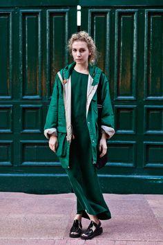 OTC - BUENOS AIRES STREET STYLE: giselle, 25 años, productora de moda.