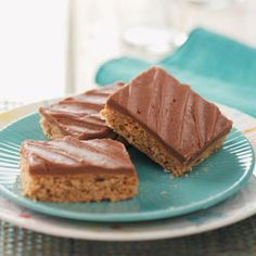 Makeover Peanut Butter Bars  Healthy