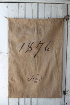 Vintage Grain Sack Reproduction by 1871Farmhouse