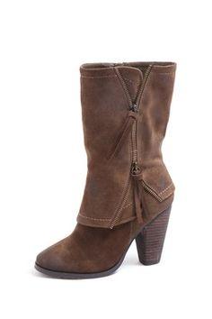 Zip Cuff Boot