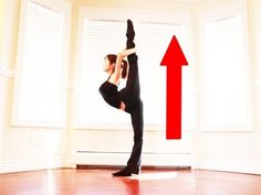 Splits flexibility exercises. I'm getting so close to a straight scorpion, hopefully this will help