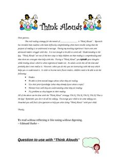 This is perfect for reading homework. If you want to improve your students' reading comprehension this letter guides parents through a reading stra...