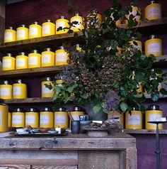 Bellocq tea room in Brooklyn.