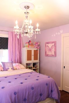 Lavender Girls Room For Neice On Pinterest Lavender