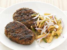 Beef Kefta With Melon Slaw Recipe : Food Network Kitchen : Food Network - FoodNetwork.com