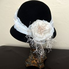 Katalina Jewelry: Downton Abbey style hat in 20 minutes!