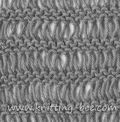 Knitting Pattern Abbreviations Yo : *PUNTOS Y ESQUEMAS A PALITOS on Pinterest 474 Pins