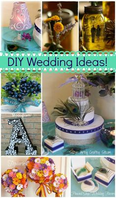 7 unique DIY wedding ideas to help keep you in your budget!