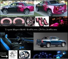 """I love the Chevy Avalanche and if I were to get one I would """"trick"""" it out with one of these two ideas."""