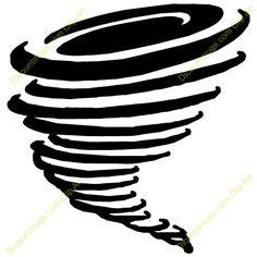 Tornado Tattoos on Pinterest | Line Drawings, Digital Art and Clip Art