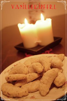 German Christmas Cookies - Vanillekipferl