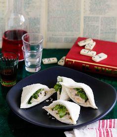 Tramezzini al tonno e uovo (tuna and egg sandwiches) | Gourmet Traveller