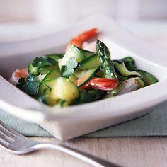 Zucchini with Shrimp