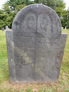 Nutfield Genealogy: Tombstone Tuesday ~ WYMAN in Hollis, New Hampshire #genealogy #familyhistory