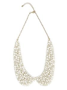 Just bought this adorable pearl peter pan collar necklace on E-Bay!