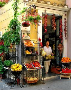 italian market place, adriana minori, mindori villag, art prints, jenni breez, argogo di, di adriana, amalfi coast italy, amalfi coast food